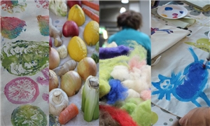 Link to event CANCELLED - Pretty branch! – Colourful Everyday gallery workshop