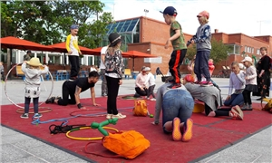 Link to event Magical circus! – Stoa's circus courses for babies, toddlers and families