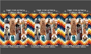 Link to event It's time for Africa -Fashion show – Syyslomaviikko - Africa in East Helsinki