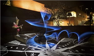 Link to event Polar Night Surprises: Magical light painting